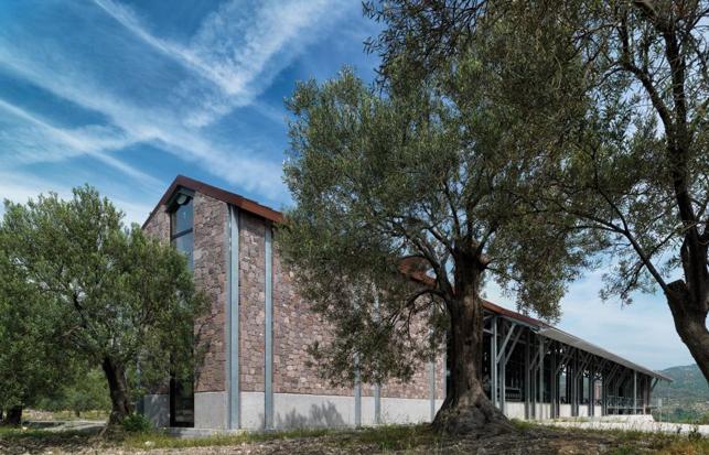 Mimarlar ve Han Tümertekin | Angelos Organic Olive Oil Mill